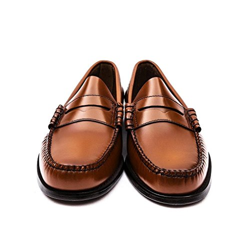 Mens Leather G Marrone H Larson Shoes Moc Penny Weejuns Bass fUE6Uq