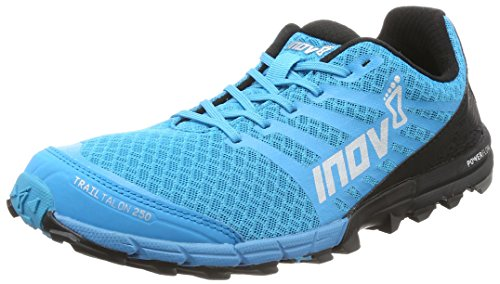 Inov-8 2017 Men's Trailtalon 250 Trail Running Shoe - Blue/Black - 000138-BLBK-S-01 (Blue/Black - M9.5 / W11)
