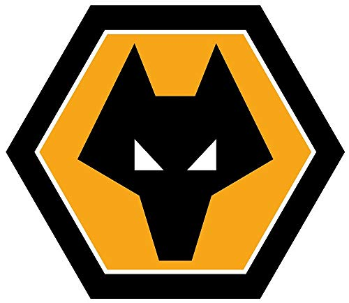 (Wolverhampton Wanderers F.C. Soccer - Sticker Graphic - Auto, Wall, Laptop, Cell, Truck Sticker for Windows, Cars,)