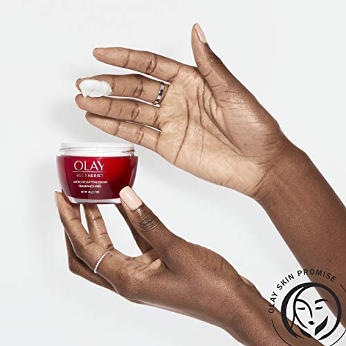 Olay Regenerist Micro-Sculpting Cream Face Moisturizer with Hyaluronic Acid, Niacinamide & Vitamin B3+, Fragrance-Free, 1.7 Ounce + Whip Face Moisturizer, Mothers Day Gift Set
