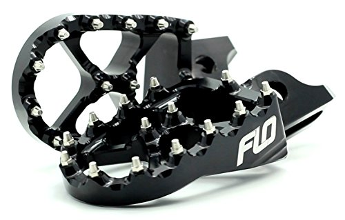 Flo Motorsports Black Kawasaki Kx65/80/85/100 Foot Pegs Fpeg-797blk by Flo Motorsports (Image #7)'