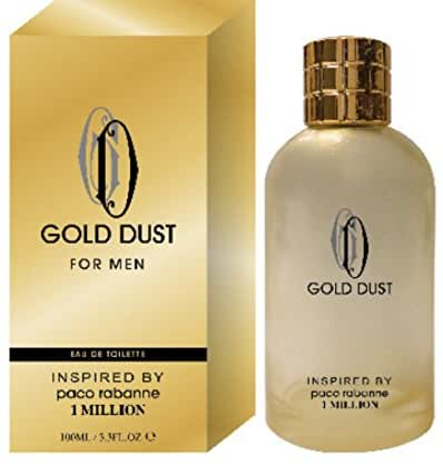 Gold Dust Edt for Men Inspired By 1 Million 100 ML