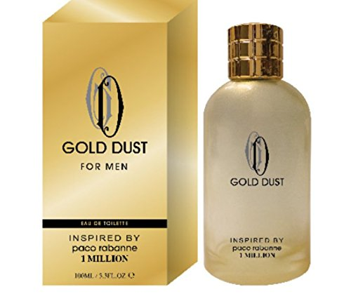 Gold Dust Edt For Men Inspired By 1 Million By Paco Rabanne Perfume