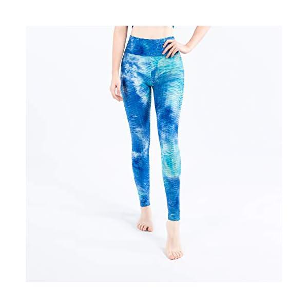 Hirdou Pantalon de Yoga sans Couture pour Femmes Leggings de Gymnastique Pantalon de Course Taille Haute Collants d…