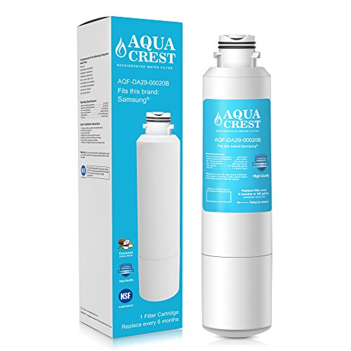 Price comparison product image AQUACREST DA29-00020B Replacement for Samsung DA29-00020B, DA29-00020A, HAF-CIN/EXP, 46-9101 Refrigerator Water Filter