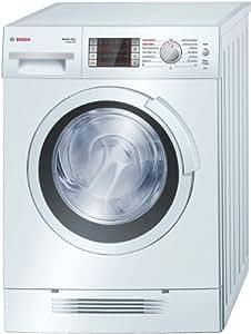 Bosch Logixx 7 WVH24460EE Independiente Carga frontal A Color blanco lavadora - Lavadora-secadora (Carga frontal, Independiente, Color blanco, Izquierda, LED, Acero inoxidable)