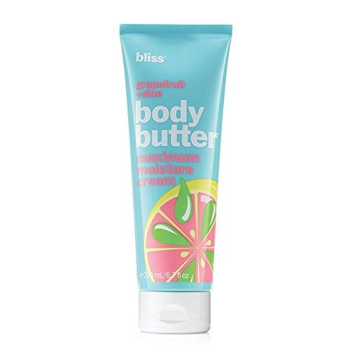 bliss Grapefruit and Aloe Body Butter maximum moisture cream 6.7 Fl Oz