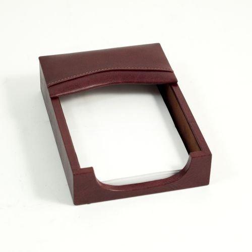 Bey-Berk D1112 Memo Holder - Tan Leather