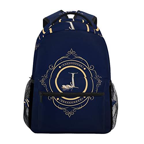 MALPLENA Daypack Monogram-I School Bag Travel Bag Packable Hiking Backpack