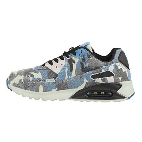 Blue Damen Unisex Turnschuhe Herren Sneaker Chunkyrayan Lisbon Laufschuhe Sport Elara 8wBFCqF