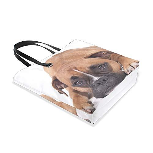Bolso Beautiful Para Boxer Hombro Mujer Talla Dog Única Al 001 Tote Bennigiry RxCcFwq6E1