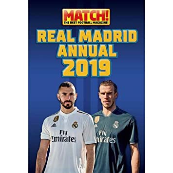 c7646664938 Real Madrid F.C. Annual 2019 Official Merchandise  Amazon.co.uk ...