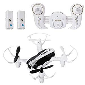 SGILE WIFI Camera Drone Gyro Skyhunter with 2 Free Batteries/Headless/Altitude Hold/360 Flip