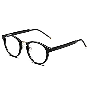 CHB Men's Women's Anti-radiation Metal Rimmed Clear Lens Eye Glasses Computer