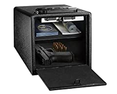 Safe storage of handguns purchased for personal protection against intruders is a primary responsibility of the handgun owner . Putting them in a nightstand drawer may provide fast access in an emergency situation, but it is not the correct s...