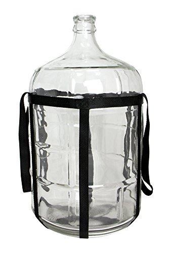 glass water bottle 5 gallon - 6