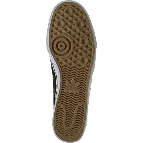 Adidas Heren Adi-ease Lace Up Sneaker Kern Zwart / Kern Zwart / Macht Rood