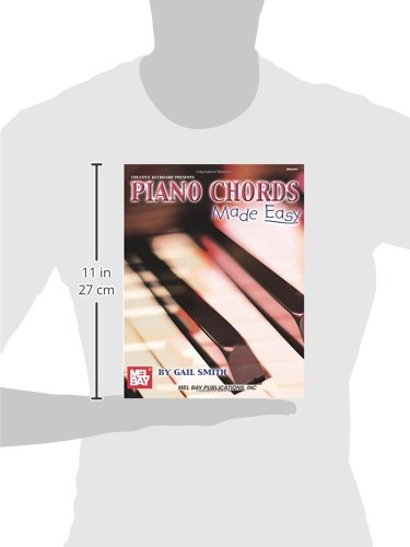 Mel Bay Piano Chords Made Easy Gail Smith 9780786660520 Amazon