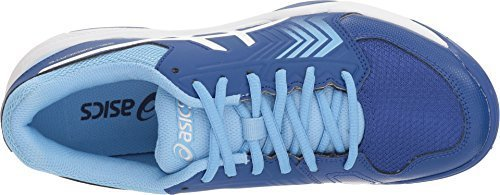 ASICS Gel-Dedicate 5 Women's Tennis Shoe, Monaco Blue/White, 9 M US