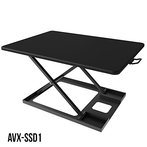 Standing Desk, Height Adjustable Sit-Stand Desk Converter - AVX-SSD1 by AVX