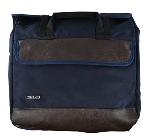 Timbuk2 Prospect Laptop Messenger Bag (One_Size, Nautical Twill/Faux Leather) by Timbuk2