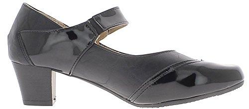 Chaussures Petits 5 DE Confortables 4 cm à Femme Talons Noires 6xrUZqB6w4