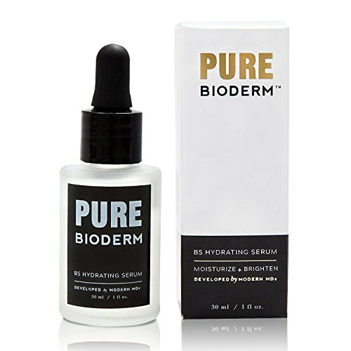 Hyaluronic Acid & Vitamin B5 Anti Aging Serum – Dermatologist Developed Hydrating and Skin Brightening Serum & Anti Aging Moisturizer w/ Pure Hyaluronic Acid for Wrinkle Repair, Dark Spots & (Hydrating Face Serum)