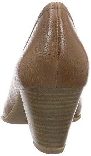 Tamaris Womens, Nahla Mid Heel Pump Nut