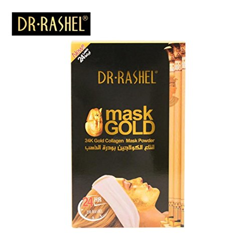 Silicone Mask ,Jinjin DR.RASHEL 24 k Gold Collagen Face Mask Powder Anti Wrinkle Anti Aging 300 g (As picture)