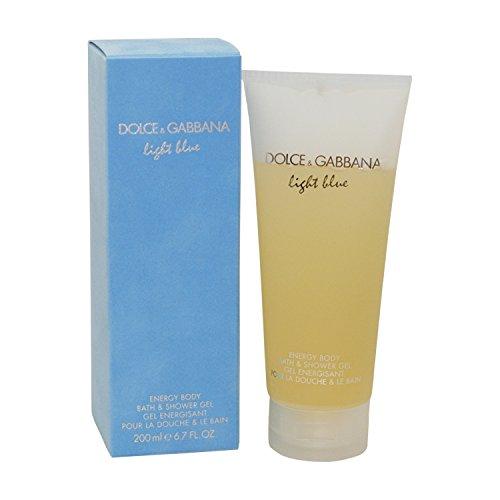 DOLCE&GABBANA Light Blue Energy Body Bath & Shower Gel, 6.7 oz