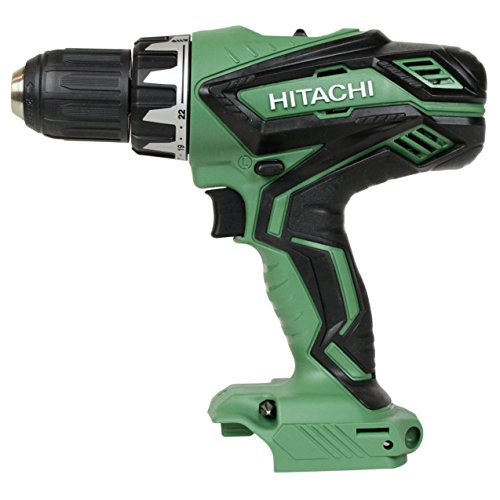 Hitachi DS18DGL 18V Cordless Lithium-Ion 1 2in Compact Drill Driver – Bare Tool Renewed