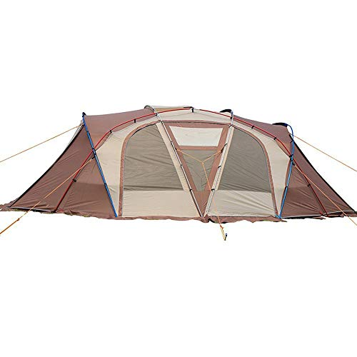 Camping Tent 6-8 Persons Family Outdoor Tent Large Anti Rainstorm Waterproof Ripstop for Traveling Hiking Beach Fishing…