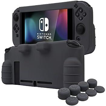 Amazon Com Nintendo Switch Silicone Skin Comfort Grip