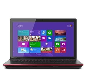 Toshiba Qosmio X75-A7298 17.3-Inch Laptop (2.40 GHz Intel Core i7-4700M Processor, 16 GB DIMM, 1 TB HDD, 256 GB SSD, Windows 8) Black Widow Styling in Textured Aluminum