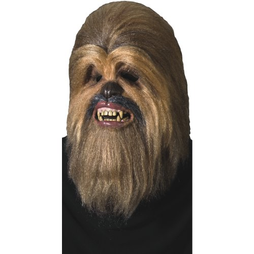 [Deluxe Chewbacca Full Latex Mask Costume Accessory] (Deluxe Chewbacca Costumes)