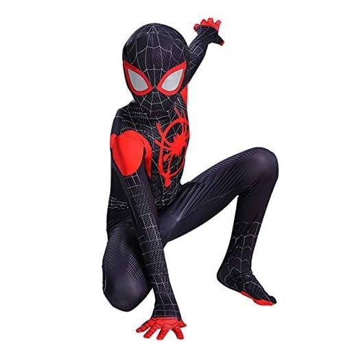 Hois Kid Lycra Spandex Zentai Halloween Cosplay Suit Kids Costume Superhero Bodysuit