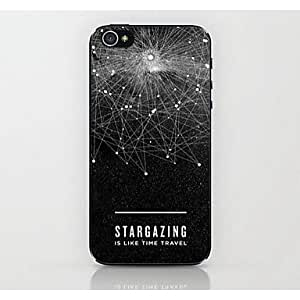 LIMME Connection Star Pattern Hard Case for iPhone 4/4S