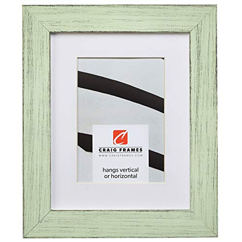 Craig Frames Jasper, 16 x 20 Inch Country Mint Julep Picture Frame Matted to Display a 11 x 14 Inch Photo