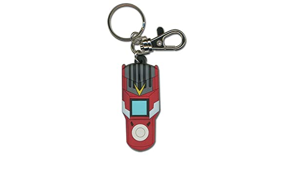 Great Eastern Entertainment Digimon Fusion Loader PVC Keychain
