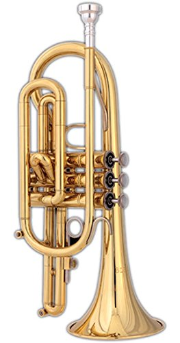 Blessing BCRXL Cornet, Lacquered Brass by Blessing