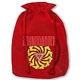 Christmas Bags Sound Garden Premium Santa Gift Sack Drawstring Pocket