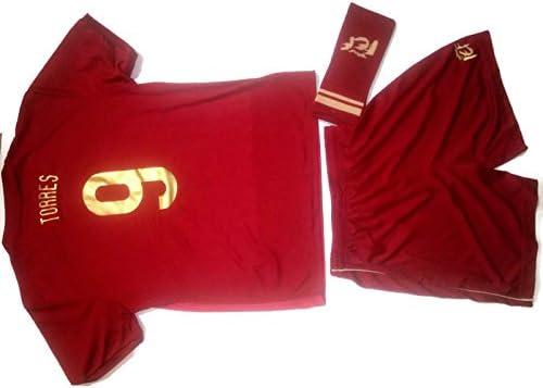 Kit Infantil R. Rojo TORRES 1ª Equip. Mundial Sel. Española Original RFEF (4): Amazon.es: Deportes y aire libre