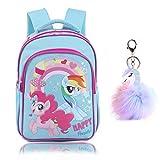 SEDEX Unicorn School Backpacks for Girls Kids Toddler School Bags Waterproof Bookbags Lightweight