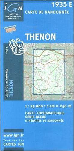 Livre gratuits en ligne Thenon GPS: Ign1935e pdf epub