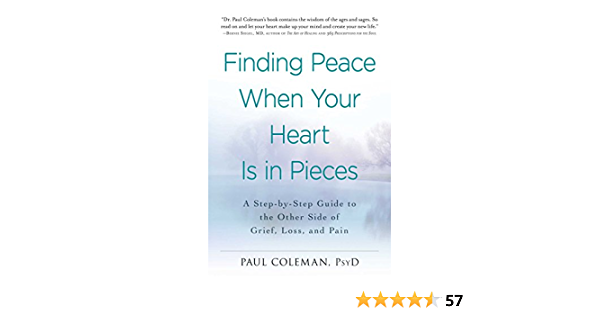 Finding Peace When Your Heart Is In Pieces: A Step-by-Step Guide to the Other Side of Grief, Loss, and Pain (English Edition)