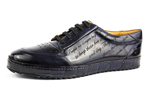 Melvin & Hamilton - Zapatillas de charol para hombre azul azul 41