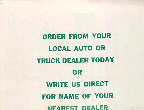1950 Ford Pickup Truck Dixie Tal Station Wagon Brochure Dixie Trucks