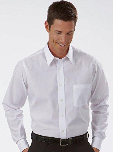 Van Heusen Men's Broadcloth Wrinkle free Long Sleeve Dress Shirt 15 34/35 (Heusen Shirt Wrinkle Dress Van Free)