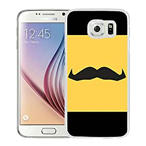 Movember iPhone Lock Screen White Samsung Galaxy S6 Case Sale Online