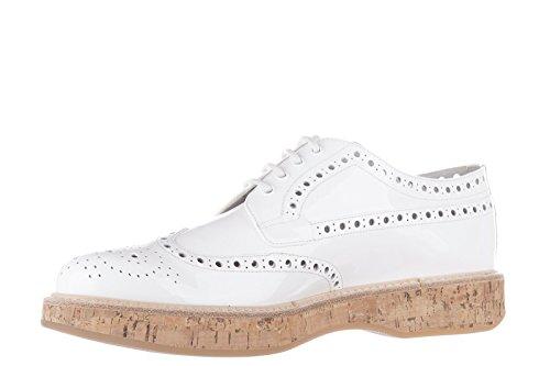 Church's clásico zapatos de cordones mujer en piel nuevo derby keely blanco